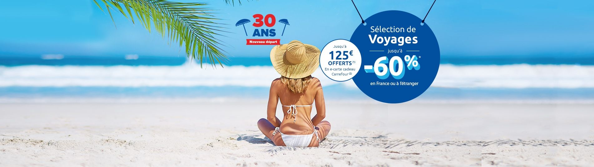 30 ans Carrefour Voyages