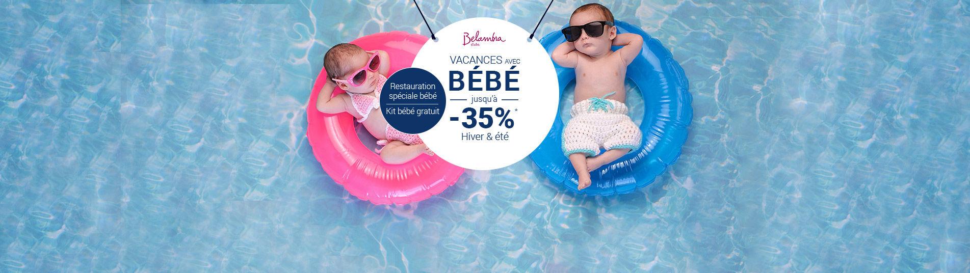 Vacances en Club avec Belambra avec bébé