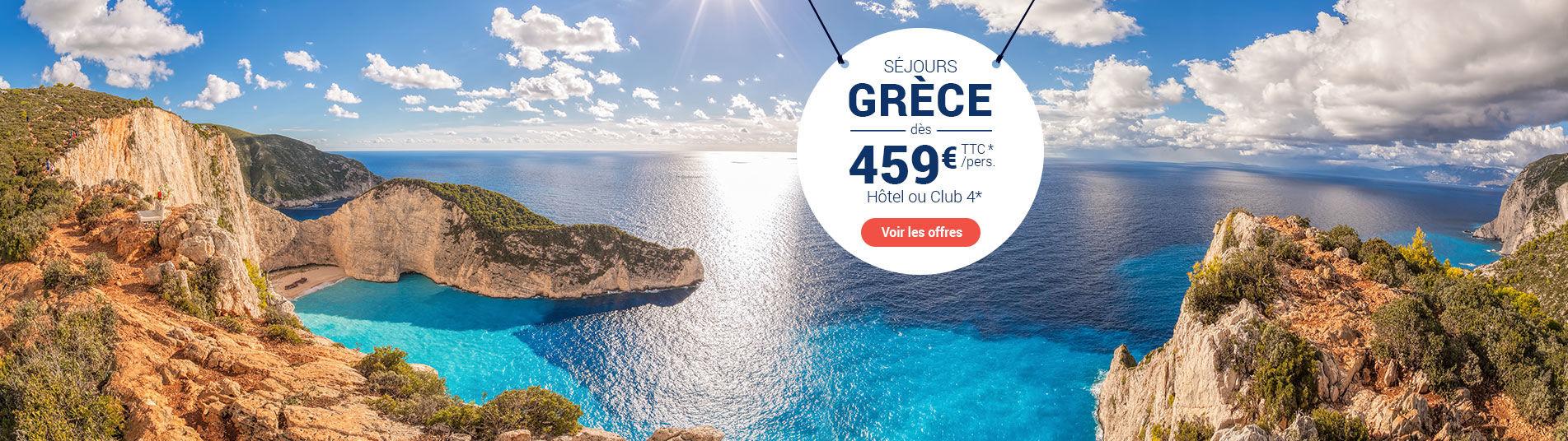 Eau turquoise en Grèce