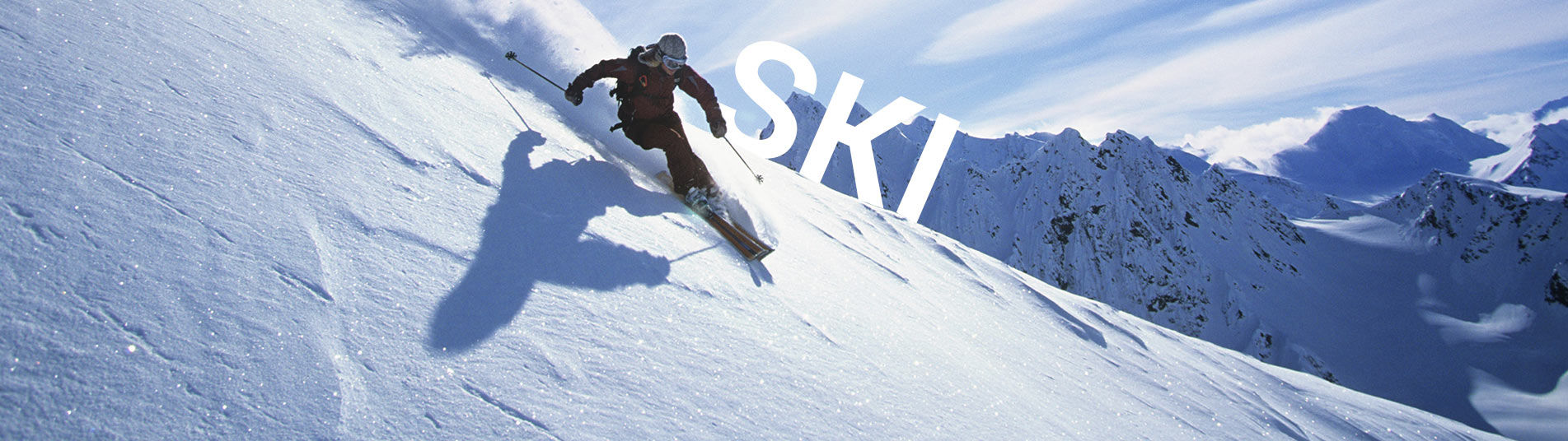 Skieur à la neige