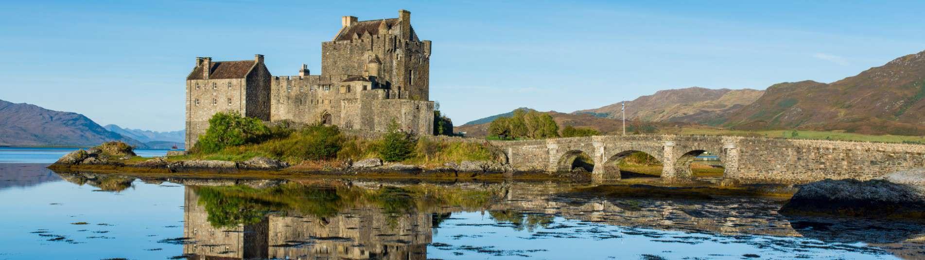 Château dans les Highlands en Ecosse