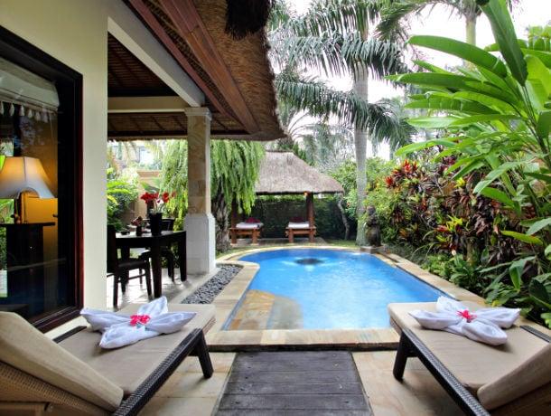 Combiné Ubud & Jimbaran en villas avec piscine privée - 1
